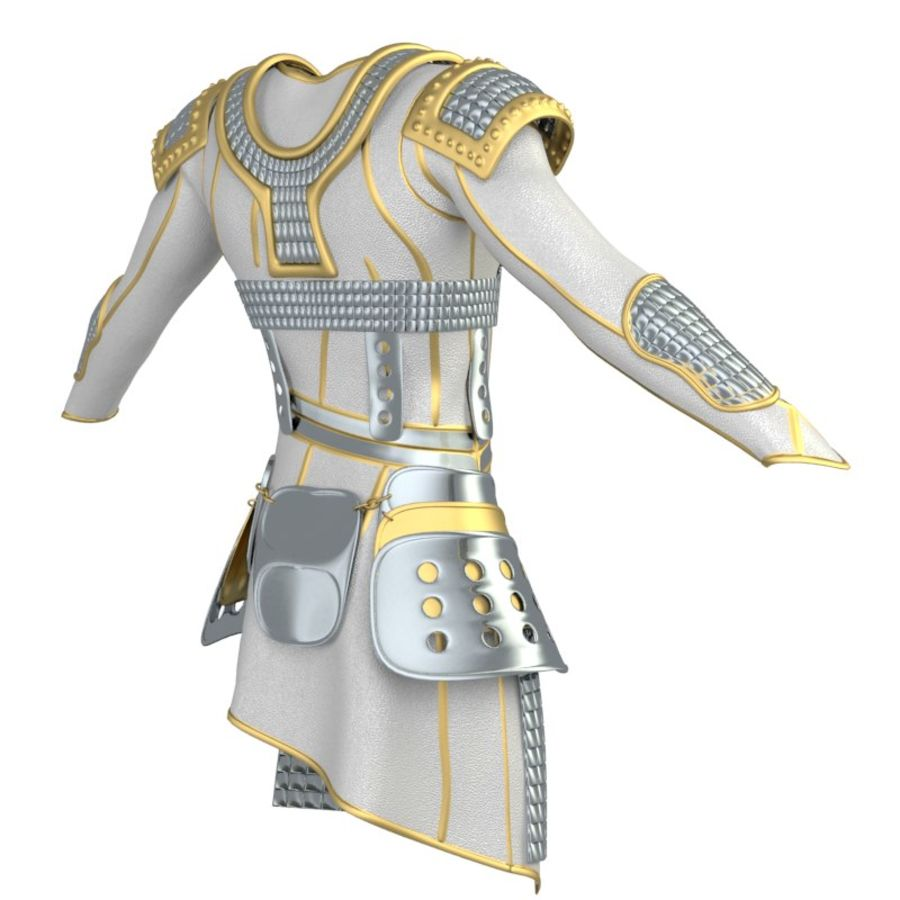 armor royalty-free 3d model - Preview no. 30