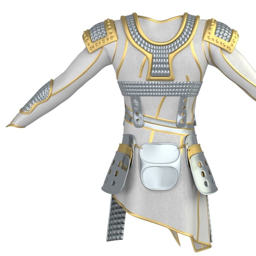 armor royalty-free 3d model - Preview no. 6