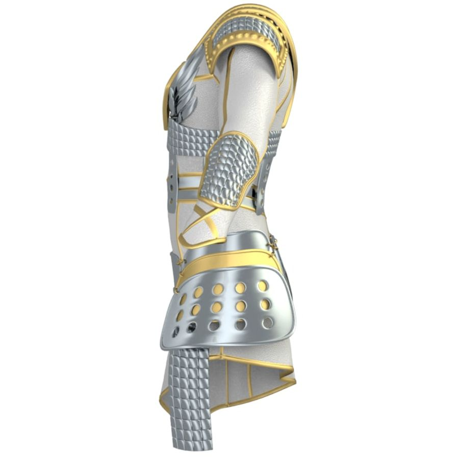 armor royalty-free 3d model - Preview no. 4