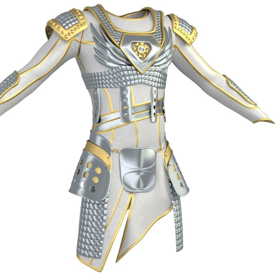 armor royalty-free 3d model - Preview no. 10