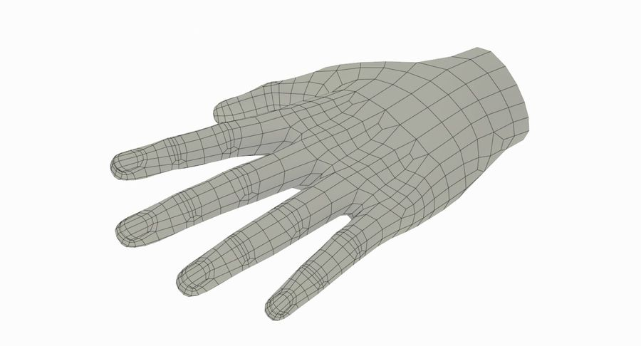 Hand royalty-free 3d model - Preview no. 11