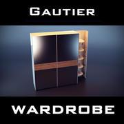 Armario Gautier modelo 3d