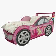 Çocuk Araba Yatağı 3d model