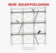 Scaffoling BIM 3d model