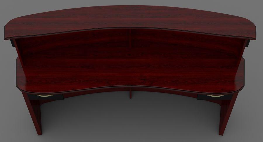 Reception Desk royalty-free 3d model - Preview no. 9