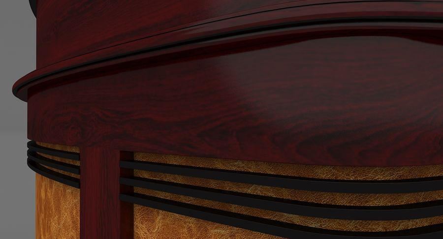 Reception Desk royalty-free 3d model - Preview no. 10