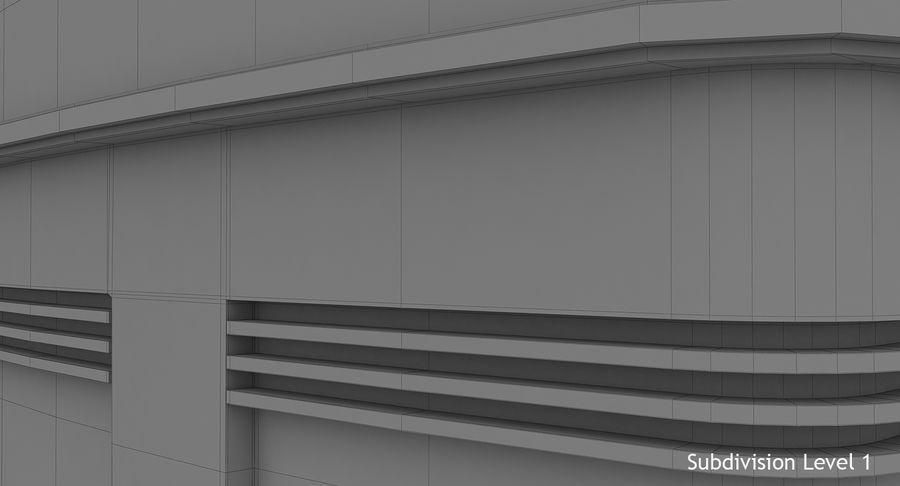 Reception Desk royalty-free 3d model - Preview no. 15