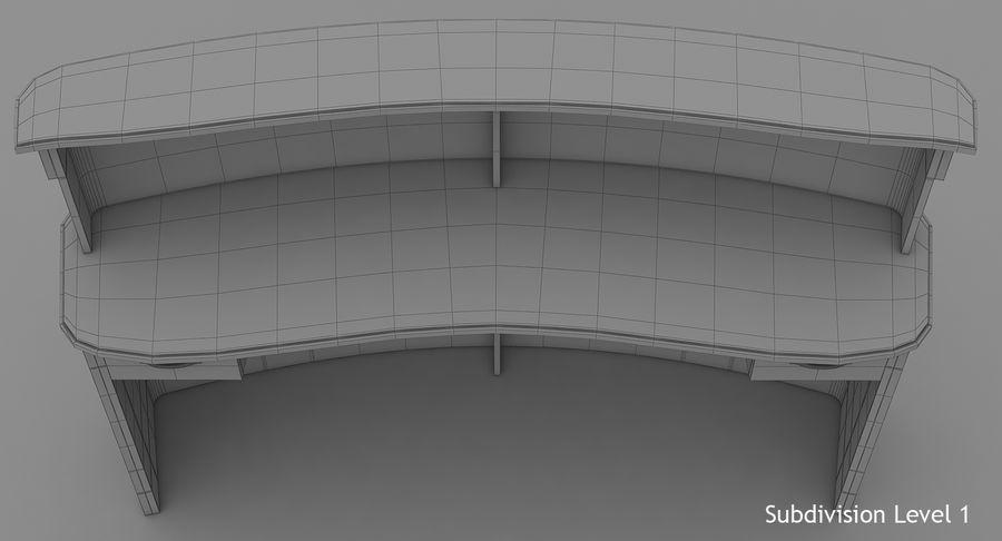 Reception Desk royalty-free 3d model - Preview no. 17