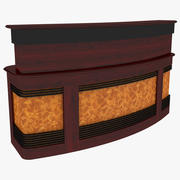 Reception Desk 3d model