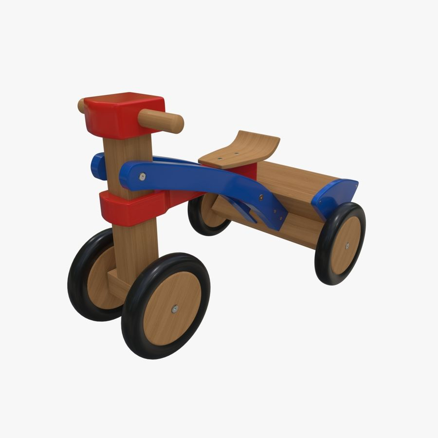 Kinderen driewieler royalty-free 3d model - Preview no. 2