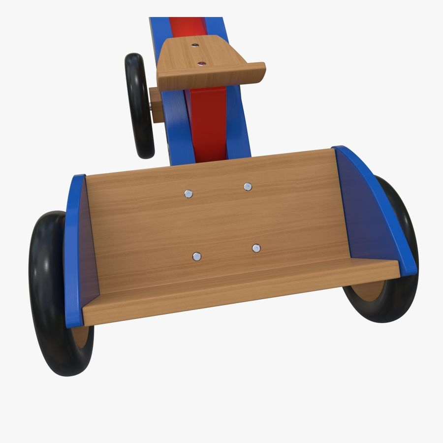 Kinderen driewieler royalty-free 3d model - Preview no. 10