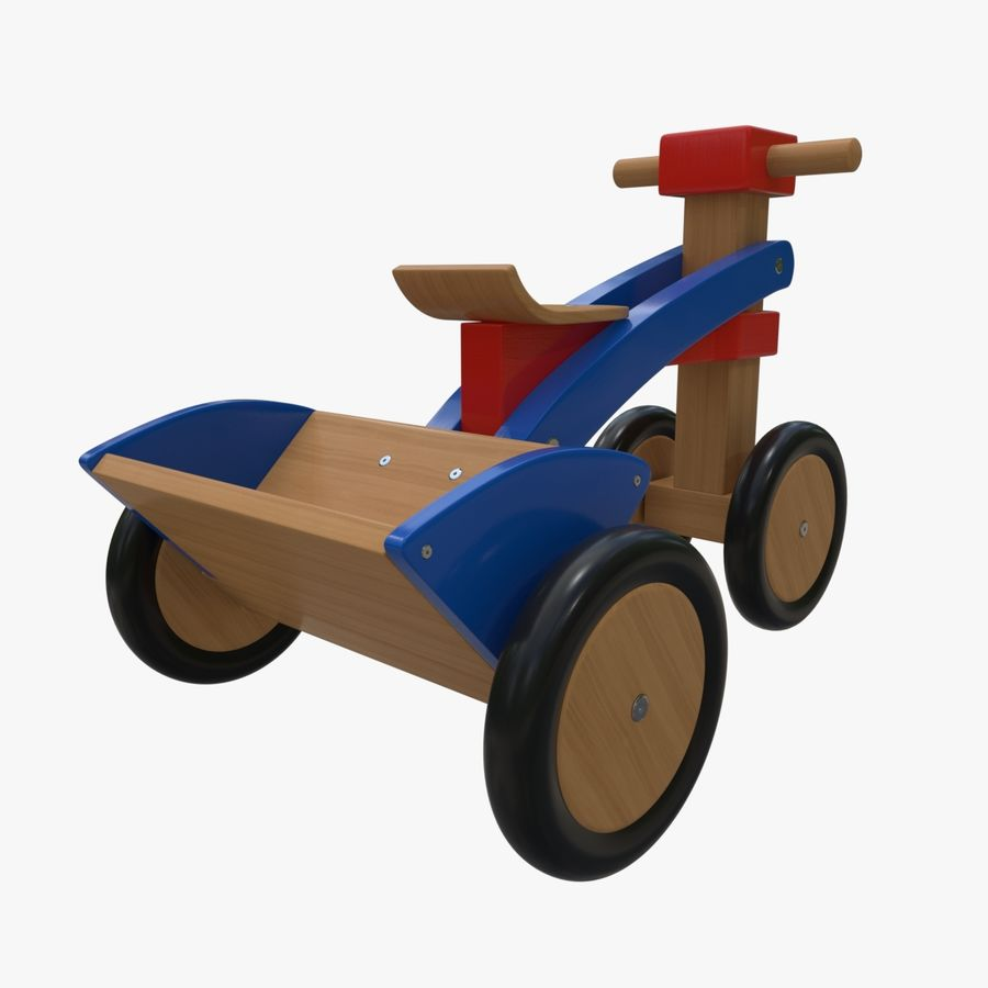 Kinderen driewieler royalty-free 3d model - Preview no. 5