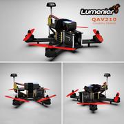 Lumenier QAV210 Racing Drone 3d model