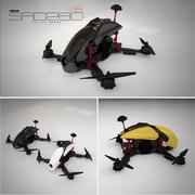 SRD280 Racing Drone modelo 3d