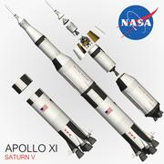 APOLLO XI 3d model