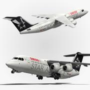 Bae 146 Swiss Airlines 3d model