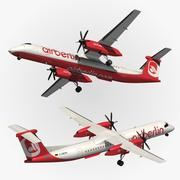 Bombardier Dash 8 Q400 3d model