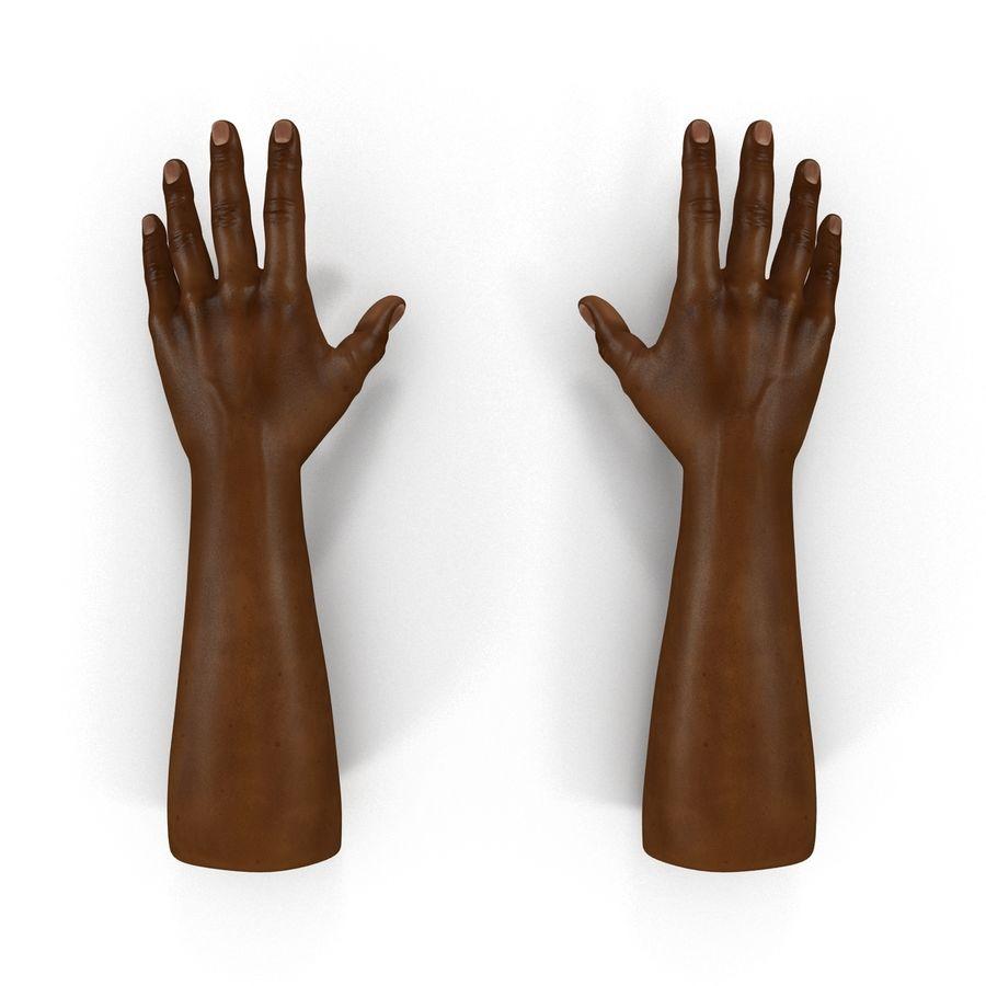アフリカ人の手3Dモデル royalty-free 3d model - Preview no. 3