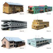 住宅セット 3d model