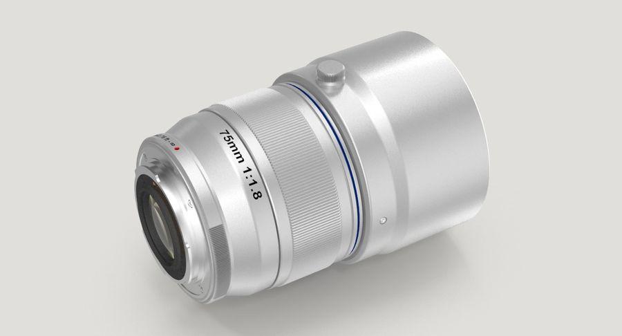 Lenti della macchina fotografica royalty-free 3d model - Preview no. 9