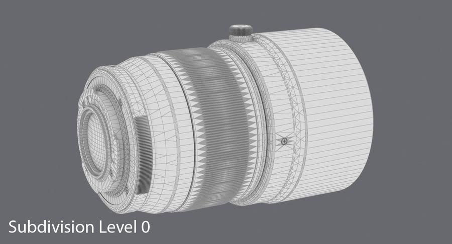 Lenti della macchina fotografica royalty-free 3d model - Preview no. 15