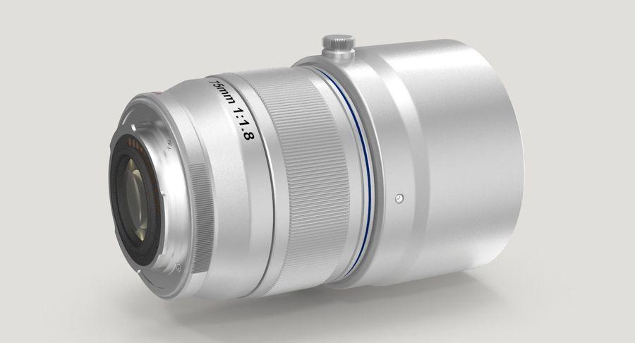 Lenti della macchina fotografica royalty-free 3d model - Preview no. 4