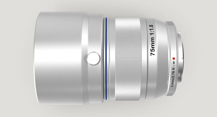 Lenti della macchina fotografica royalty-free 3d model - Preview no. 7