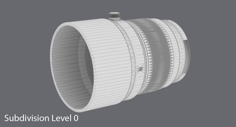 Lenti della macchina fotografica royalty-free 3d model - Preview no. 11