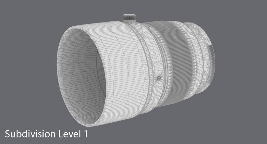 Lenti della macchina fotografica royalty-free 3d model - Preview no. 12