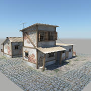 Eski evler 3d model