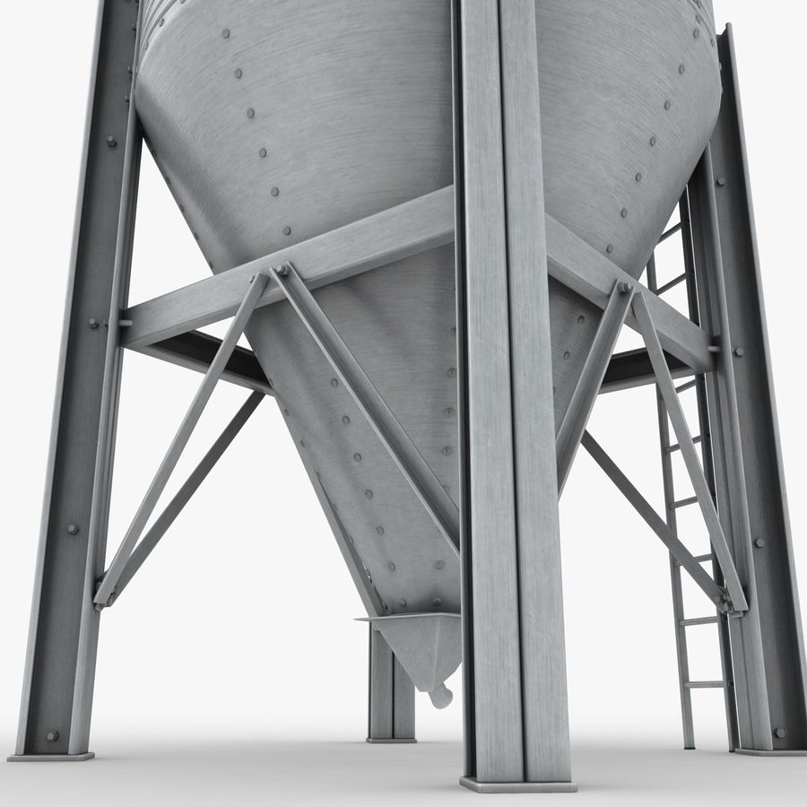 Silo royalty-free 3d model - Preview no. 11