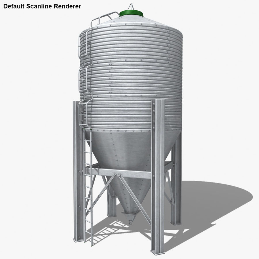 Silo royalty-free 3d model - Preview no. 22
