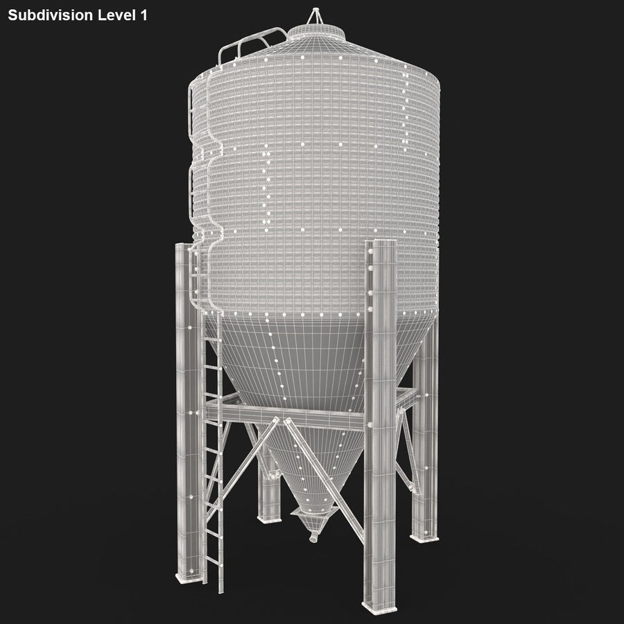 Silo royalty-free 3d model - Preview no. 20