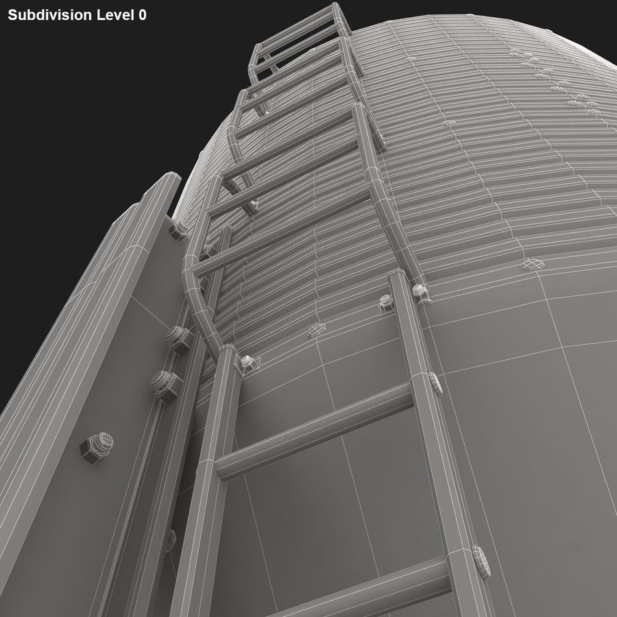 Silo royalty-free 3d model - Preview no. 16