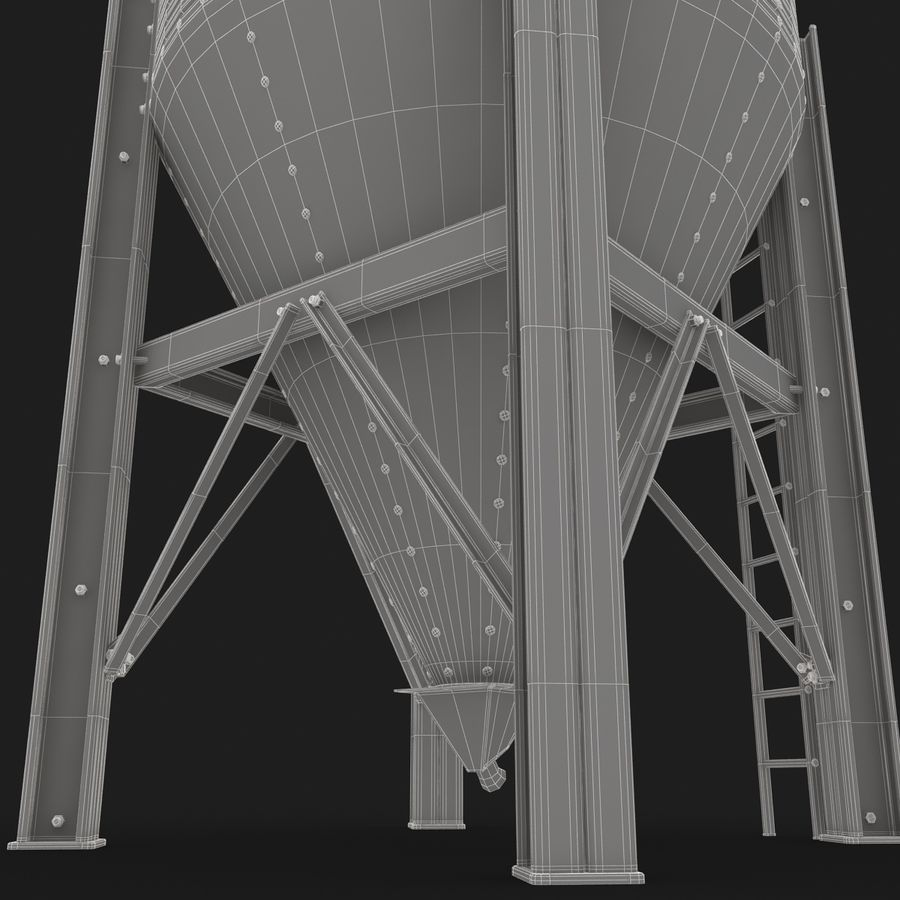 Silo royalty-free 3d model - Preview no. 12