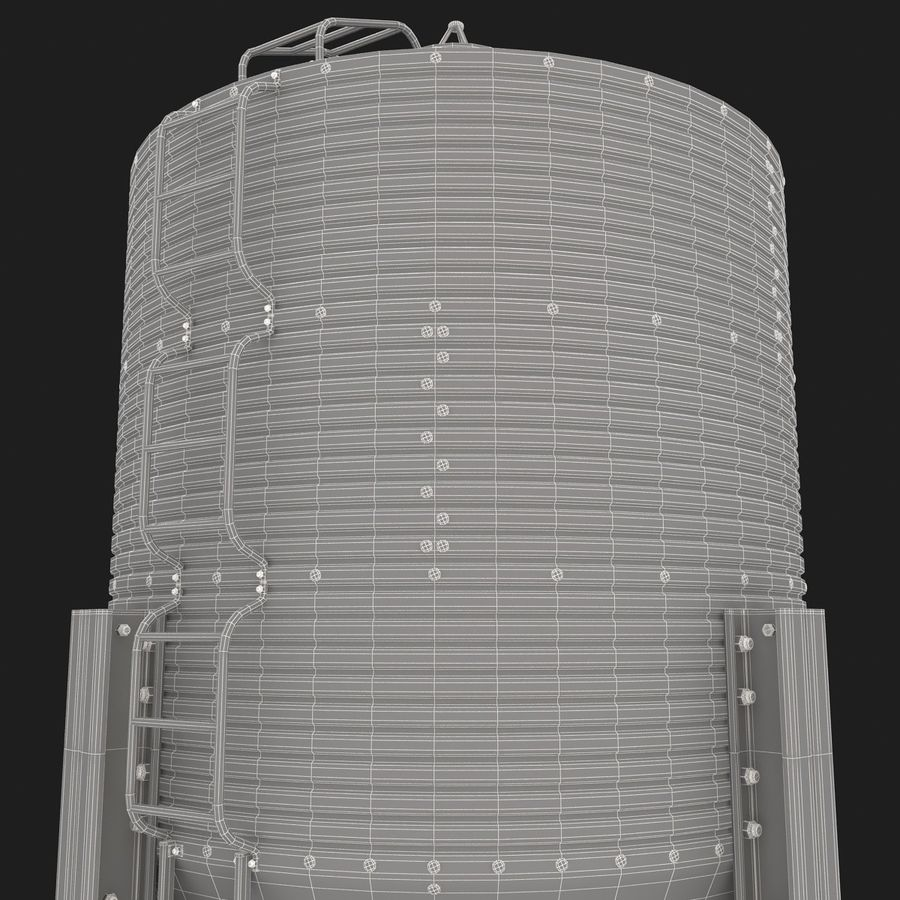 Silo royalty-free 3d model - Preview no. 14