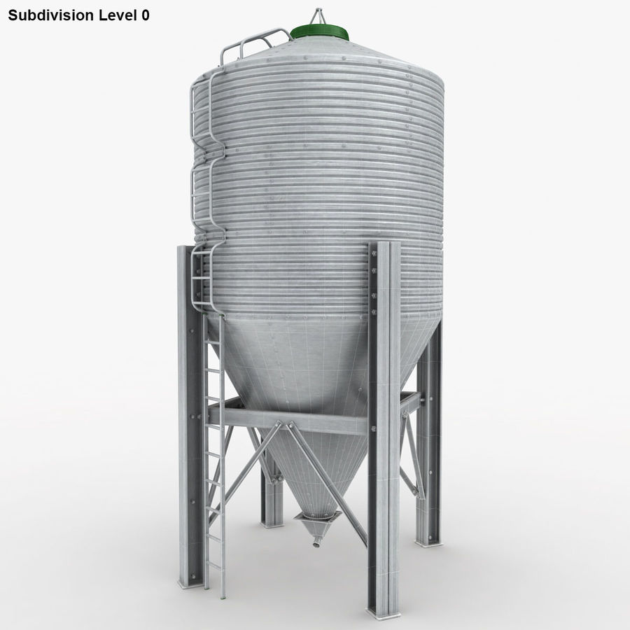 Silo royalty-free 3d model - Preview no. 18