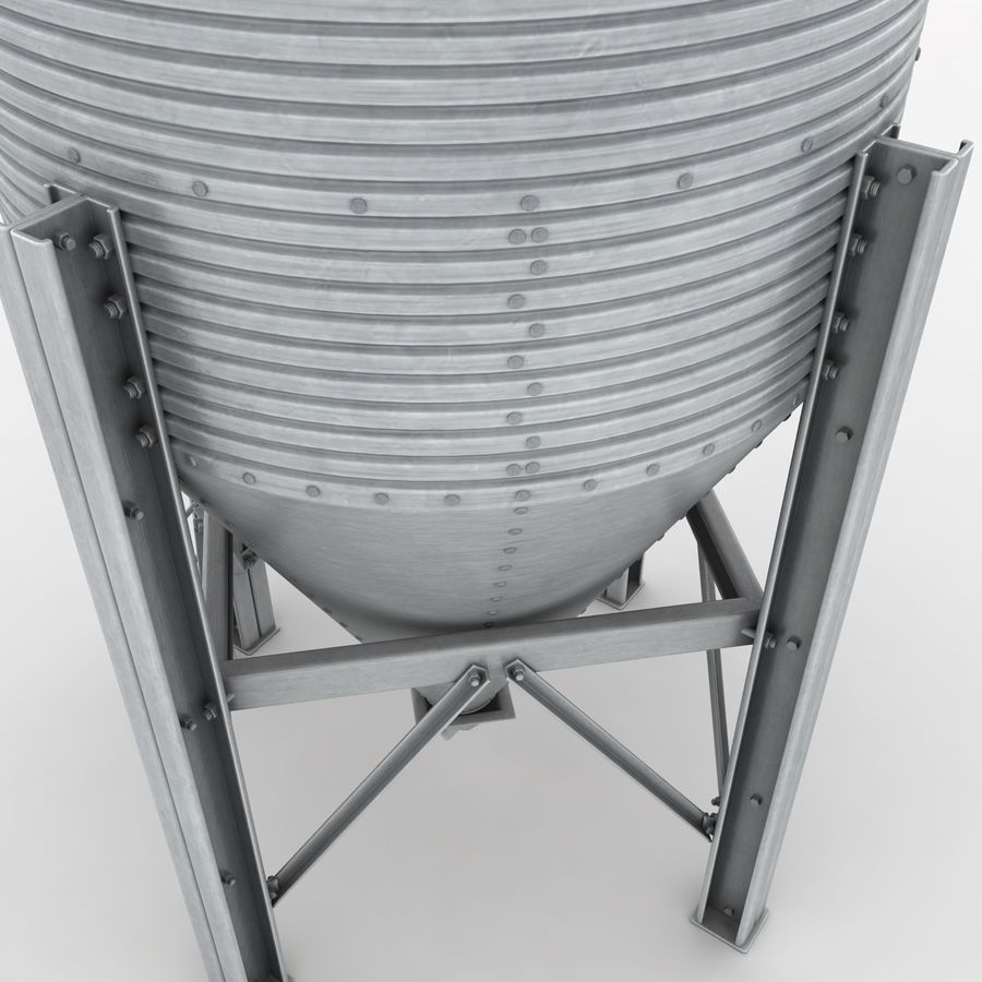 Silo royalty-free 3d model - Preview no. 9