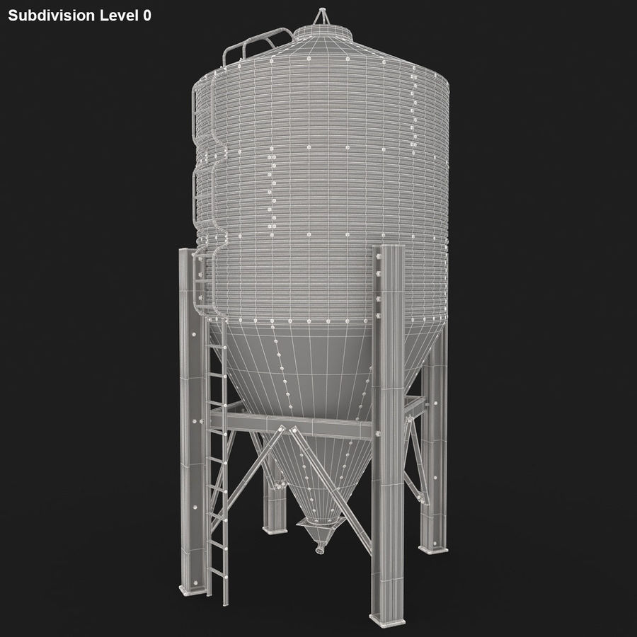 Silo royalty-free 3d model - Preview no. 19