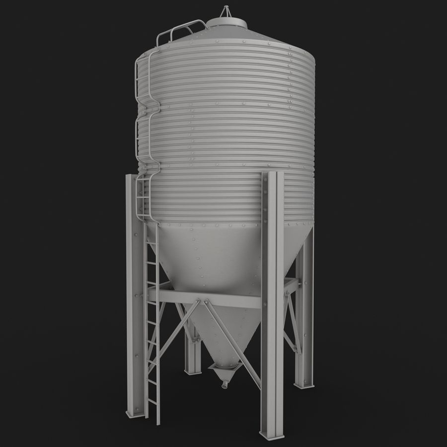 Silo royalty-free 3d model - Preview no. 21