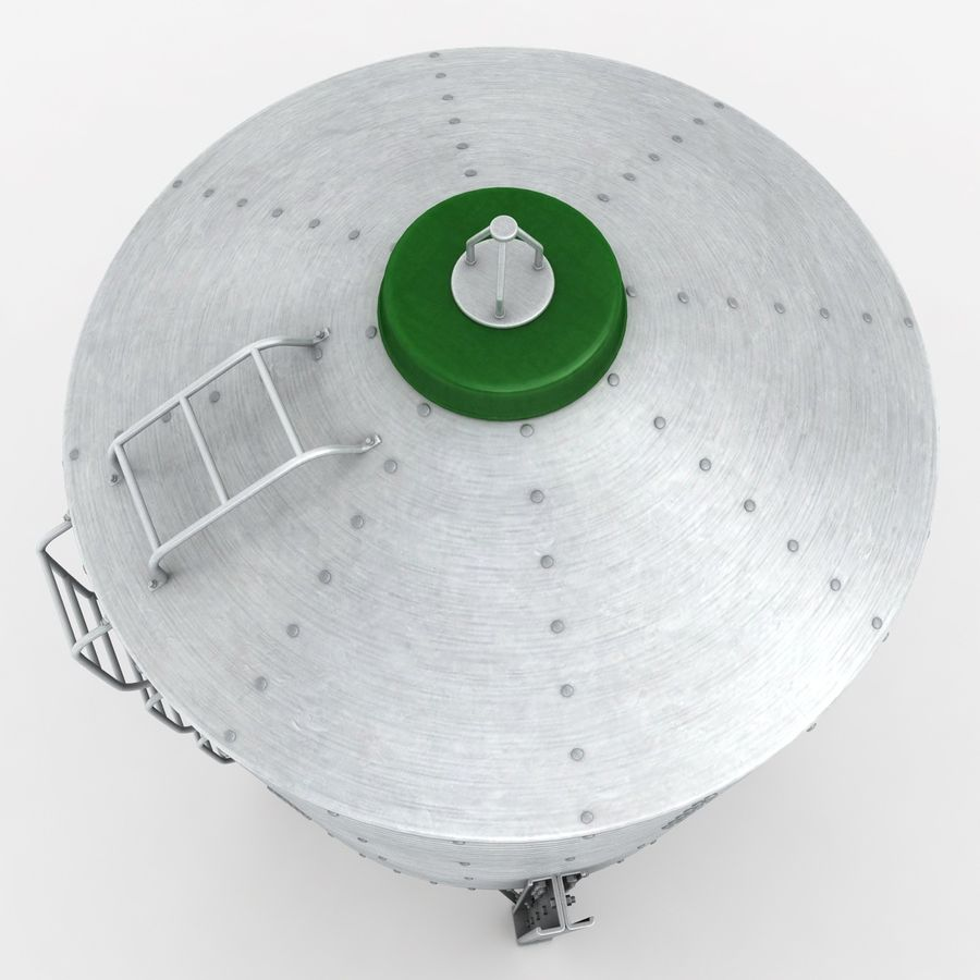 Silo royalty-free 3d model - Preview no. 10