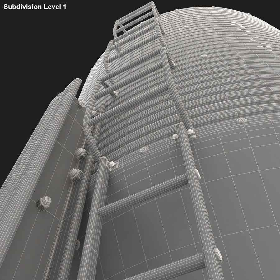 Silo royalty-free 3d model - Preview no. 17