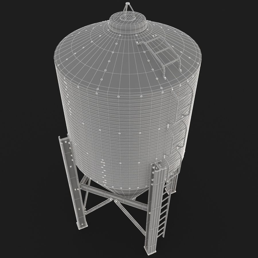 Silo royalty-free 3d model - Preview no. 13