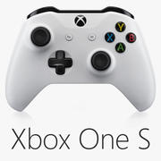 Xbox One S Controller 3d model