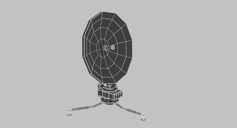 Antena de comunicação móvel royalty-free 3d model - Preview no. 12