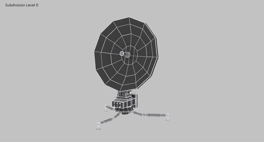 Antena de comunicação móvel royalty-free 3d model - Preview no. 16