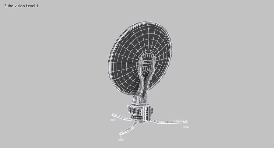 Antena de comunicação móvel royalty-free 3d model - Preview no. 15