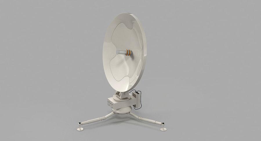 Antena de comunicação móvel royalty-free 3d model - Preview no. 9