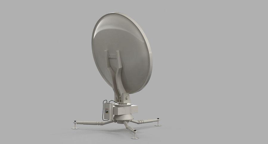 Antena de comunicação móvel royalty-free 3d model - Preview no. 6