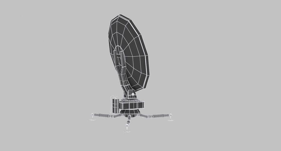 Antena de comunicação móvel royalty-free 3d model - Preview no. 13